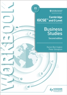 Image for Business studiesCambridge IGCSE and O Level,: Workbook
