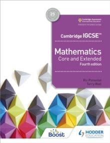 Image for Cambridge IGCSE mathematics  : core and extended