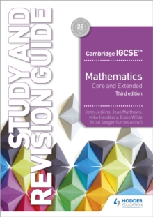Image for Cambridge IGCSE mathematics core and extended study and revision guide