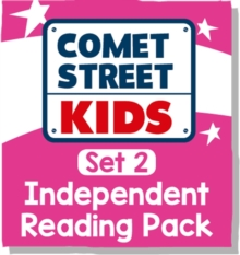 Reading Planet Comet Street Kids - Pink A Set 2 Independent Reading Pack -