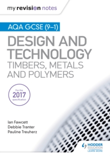 Image for Design and technology: timbers, metals and polymers