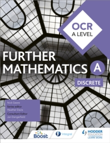 Image for OCR A level further mathematics: Discrete