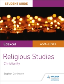 Image for Edexcel Religious Studies A Level/AS  : Christianity: Student guide