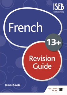 Image for French for common entrance 13+: Revision guide