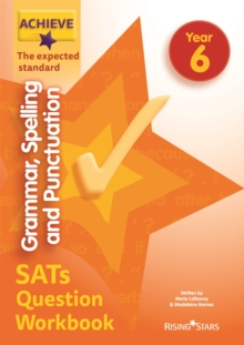 Achieve grammar, spelling and punctuation SATs question workbook  : the expected standardYear 6 - Barnes, Madeleine