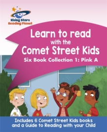 Reading Planet: Learn to read with the Comet Street Kids Six Book Collection 1: Pink A -