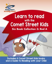 Reading Planet: Learn to read with the Comet Street Kids: Six Book Collection 3: Red A -