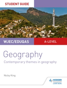Image for WJEC/Eduqas A-level geography.: (Contemporary themes in geography)
