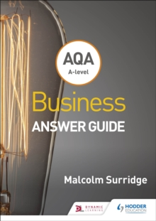 Image for AQA A-level business: Answer guide (Surridge and Gillespie)