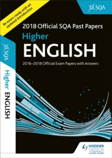 Image for Higher English 2018-19 SQA Past Papers with Answers