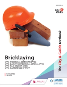 Image for Bricklaying: Level 2 technical certificate (7905), Level 3 advanced technical diploma (7905), Level 2 & 3 diploma (6705), Level 2 apprenticeship (9077)