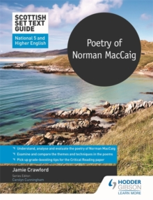 Poetry of Norman MacCaig for National 5 and Higher English - Crawford, Jamie