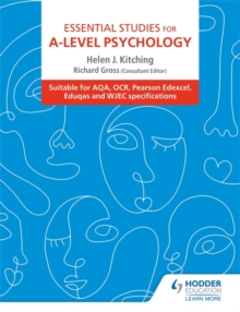 Image for Essential studies for A-level psychology