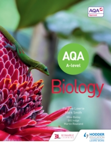 Image for AQA A level biology.