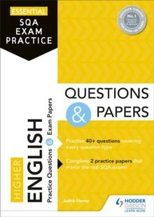 Image for Higher English  : practice questions & exam papers