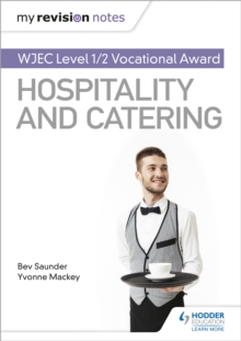Image for WJEC Vocational award in hospitality and cateringLevel 1/2