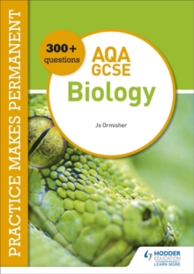 Image for Practice makes permanent  : 300+ questions for AQA GCSE biology