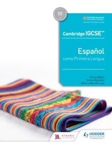Image for Cambridge IGCSE Español Como Primera Lengua. Libro Del Alumno