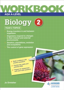 Image for AQA A-level Biology Workbook 2