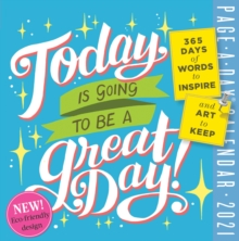 Image for 2021 Today is Going to be a Great Day! Colour Page-A-Day Calendar
