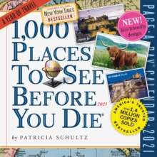 Image for 2021 1,000 Places to See Before You Die Colour Page-A-Day Calendar