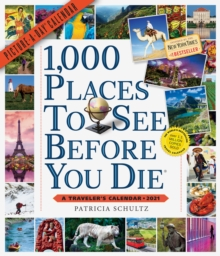 Image for 2021 1000 Places to See Before You Die Picture-A-Day Wall Calendar