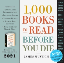Image for 2021 1000 Books to Read Before You Die Page-A-Day Calendar