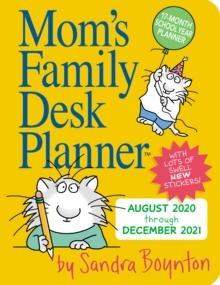 Image for 2021 Moms Family Desk Planner