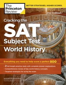 Image for Cracking the Sat World History Subject Test