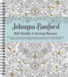 Image for Johanna Basford 2021 Weekly Coloring Planner Calendar