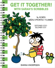 Image for Sarah's Scribbles 16-Month 2020-2021 Weekly/Monthly Planner Calendar : Get It Together!