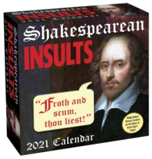 Image for Shakespearean Insults 2021 Day-to-Day Calendar