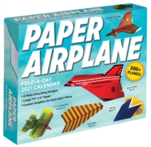 Image for Paper Airplane Fold-A-Day 2021 Calendar