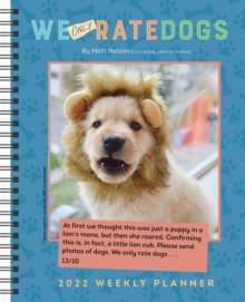 Image for WeONLYRateDogs 2022 Weekly Planner Calendar
