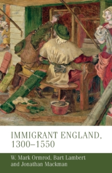 Image for Immigrant England, 1300-1550