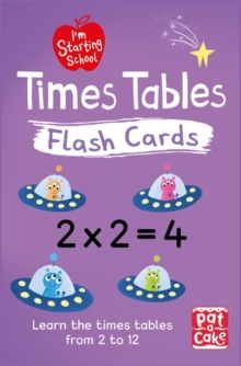 Image for I'm Starting School: Times Tables Flash Cards : Essential flash cards for times tables from 1 to 12