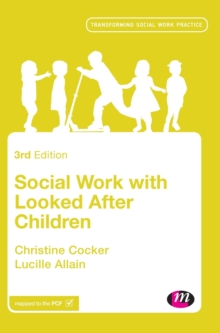 Image for Social work with looked after children