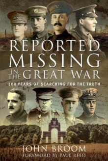 Image for Reported missing in the Great War