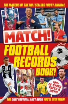 Image for Match! Football records book!