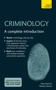 Image for Criminology  : a complete introduction