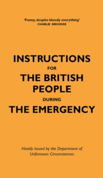 Image for Instructions for the British people during the emergency
