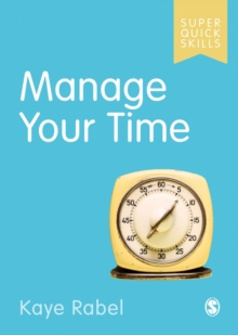 Image for Manage your time