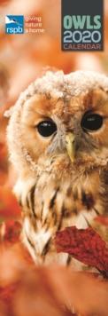 Image for RSPB Owls Slim Calenar 2020