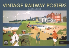 Image for Vintage Railway Posters National Railway Museum A4 Calendar 2020