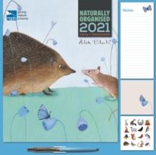 Image for Ailsa Black, RSPB Household Square Wall Planner Calendar 2021