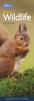Image for British Wildlife, RSPCA Slim Calendar 2021