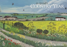 Image for Country Year, Jo Grundy A4 Calendar 2021