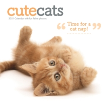 Image for Cute Cats Square Wall Calendar 2021