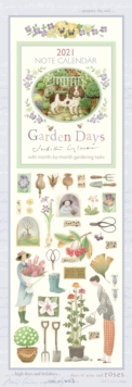 Image for Garden Days Slim Calendar 2021