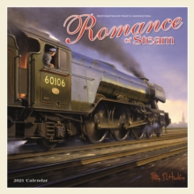 Image for Romance of Steam Square Wall Calendar 2021